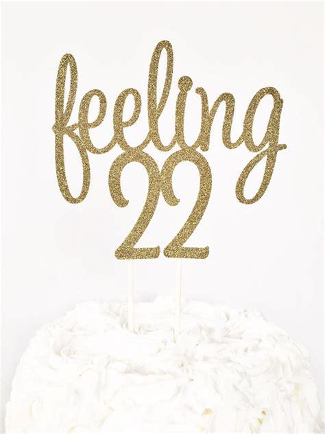 Birthday Card For 22 Year