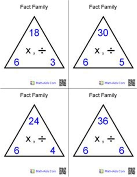 printable division flashcards with answers addition and subtraction flash cards 356 total free and