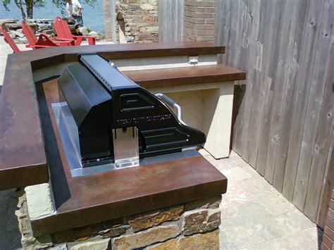 Outdoor Kitchen Grill Insert by Outdoor Kitchens The Emporium Fireplaces