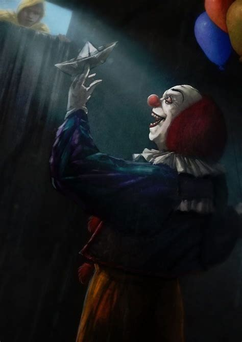 film it clown george and pennywise horror film fanatic pinterest