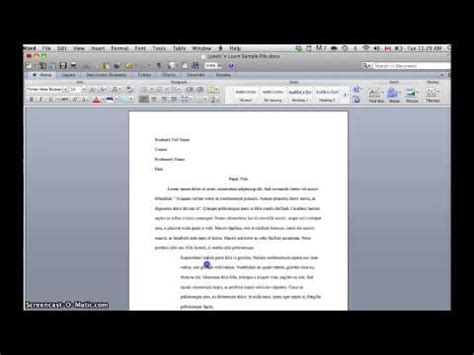 apa format youtube mac indenting a block quotation 2 ways in word 2010 mac