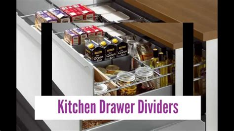 Shelves For Kitchen Cabinets Excellent Kitchen Drawer Dividers Youtube
