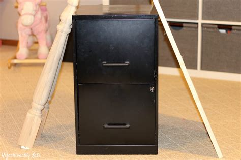 diy desk file cabinets diy file cabinet desk refashionably late