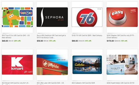 Ebay Gift Card Sale - huge ebay gift card sale including profitable cards from 76 cabela s toys r us