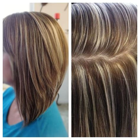 pictures of high and lowlights for hair high contrast hair color highlights and lowlights