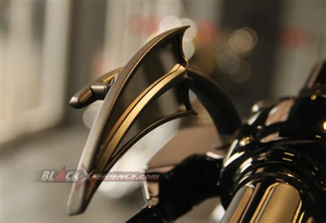 Spion Arlen Black modifikasi harley davidson road king bagger style blackxperience