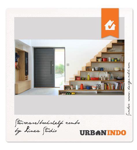 Rak Tangga inspirasi desain tangga rak serbaguna urbanindo