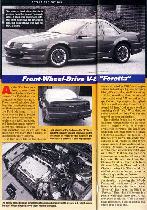 fwd camaro 1980s fwd camaro page 2