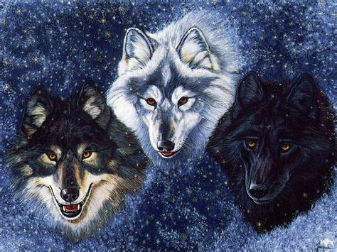 cool wallpaper of wolves fantasy wolf wallpapers wallpaper cave