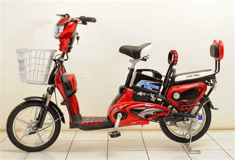Sepeda Motor Listrik Eart Rider sepeda listrik earth superrider seperti selis mr jackie paling laris