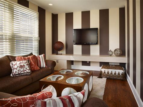 brown and red living room photos hgtv