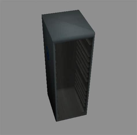 Server Rack 3d Model Free