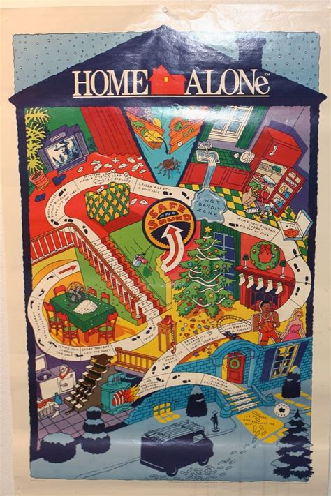 home alone battle plan map poster it s a kinda