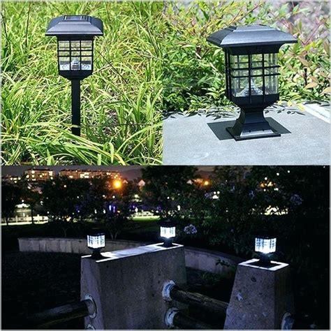 solar powered outdoor l post lights solar yard light post 100 images solar outdoor