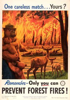 57 best images about smokey the bear on pinterest