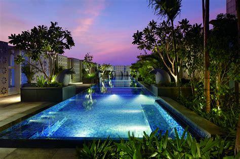Rooftop Garden Design by The Pool Bar The Ritz Carlton Bangalore