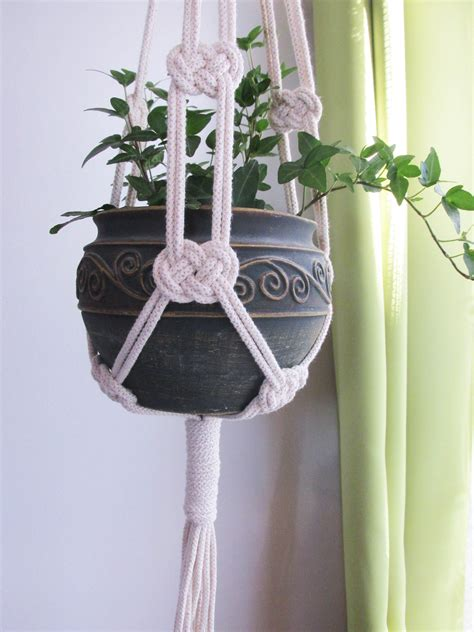 Macrame Patterns For Hanging Plants - macrame macrame plant hanger plant hangers