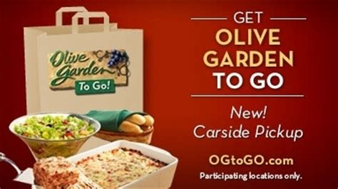 How To Get A Sold Out Olive Garden Never Ending Pasta Pass Today Olive Garden To Go Menu