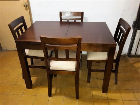 juegos de comedor  mesa extensible ombu muebles uruguay