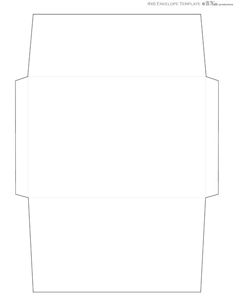 8 5 x 11 envelope template envelope template for 8 5 x 11 paper 179310 templates