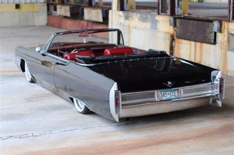 Bagged 1965 Cadillac Classic 1965 Cadillac Convertible Air Ride Bagged