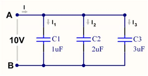 resistance capacitor parallel parallel connections of capacitors eeweb community