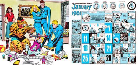 Calendario De 1981 Calendario De Marvel De 1981 Que Coincide Con El 2015