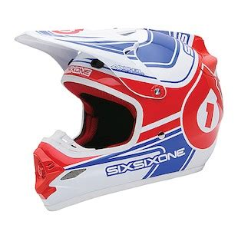 661 motocross helmet sixsixone flight ii hybrid helmet revzilla