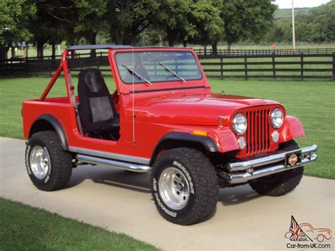 1983 Jeep CJ7 Base Sport Utility 2 Door 4.2L