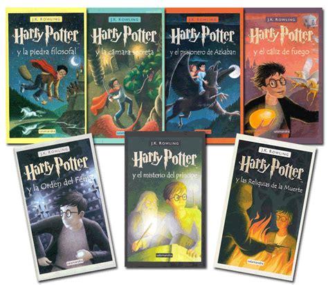libro harry potter spanish titulo de cada libro espa 241 ol e ingl 233 s 171 sergioeso