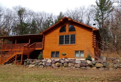 Wisconsin Log Cabin Rentals by Log Gables Log Home Lake Delton Wi Vacation Rentals