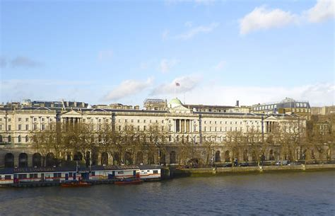 london thames college somerset house with king s college london at the right