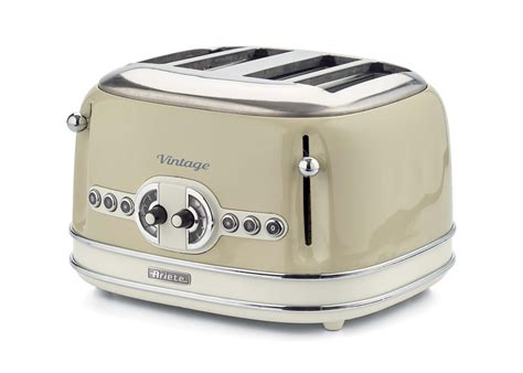 Tostapane Vintage by Toaster Vintage 4 Fette Beige Ariete Store