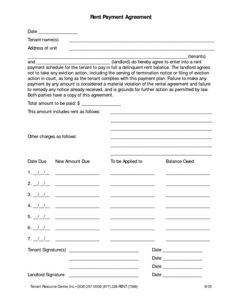 simple payment agreement template doc 12001439 doc585600 simple payment agreement template