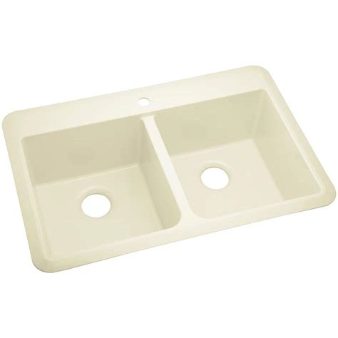 sterling kitchen sinks sterling slope acrylic drop in undermount vikrell 33 in 4