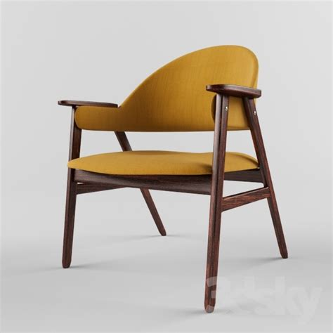 midcentury modern armchair 3d models arm chair mid century modern teak arm chair