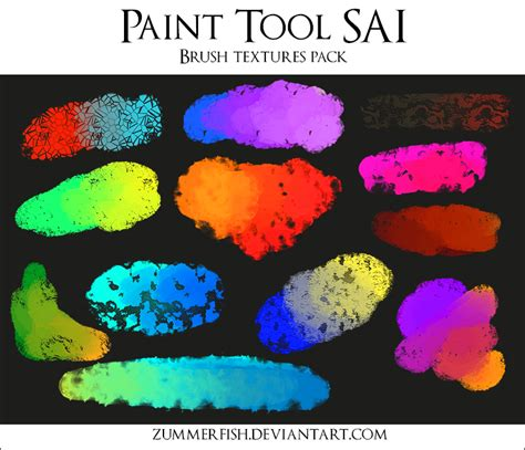 paint tool sai texture sai brushtex pack ii by zummerfish by zummerfish on deviantart