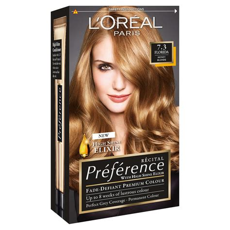 l39oreal preference hair dye 3 l oreal preference infinia 7 3 florida honey