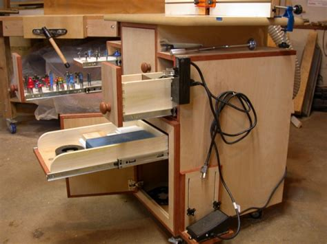 router cabinet woodworking talk