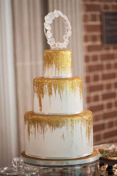 Wedding Gold by Gold Wedding Cake Juan Jade