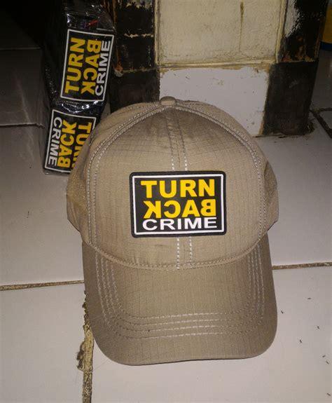 topi rubber turn back crime tokotactical