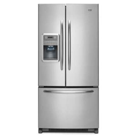 33 door refrigerator maytag ice2o 33 in w 21 7 cu ft door