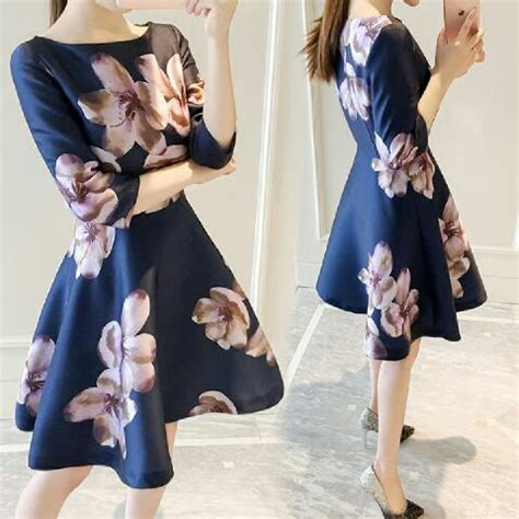 Baju Cewek Pakaian Wanita Mini Dress Pendek Hitam List Putih Clo583 Baju Dress Pendek Wanita Dewasa Gambar Bunga Cantik Terbaru