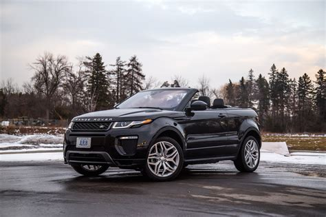 2017 Range Rover Convertible by Review 2017 Range Rover Evoque Convertible Canadian