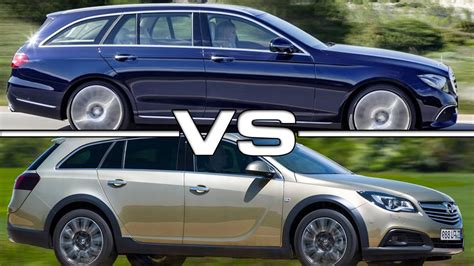 insignia 2017 country tourer 2017 mercedes e class estate vs 2016 opel insignia