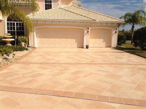 Concrete Designs Florida Driveway Decorating Ideas House Driveway Designs