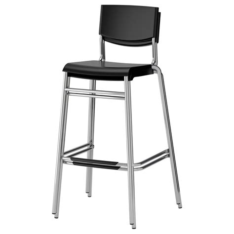 Ikea Bar Stool With Backrest by Stackable Bar Stools Ikea With Modern Bar Stool With