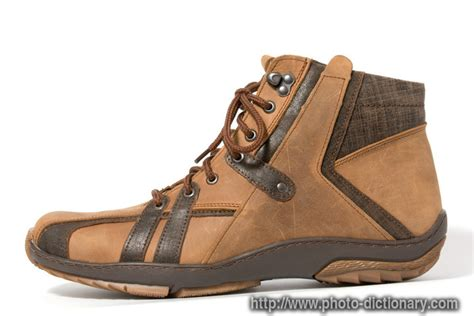 leather boot photo picture definition at photo