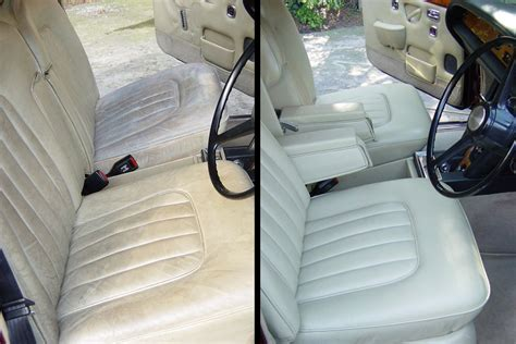Upholstery Essex by Before After Rolls Royce Seat