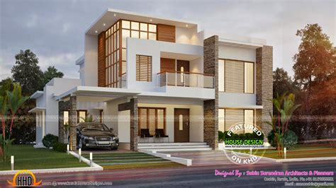 home design 500 sq yard 255 square yards contemporary house kerala home design